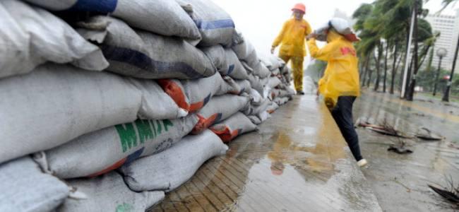 Typhoon Glenda has affected 450.000 people