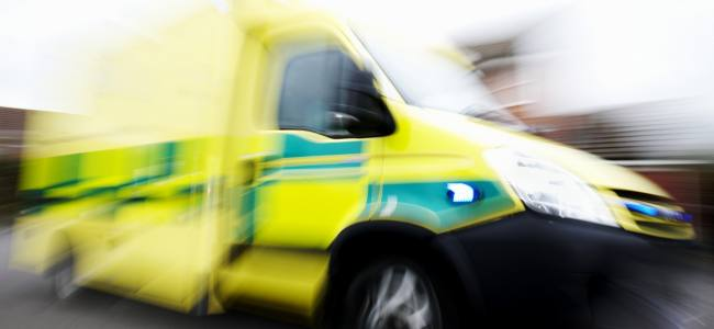 The ambulance service is in a state of emergency