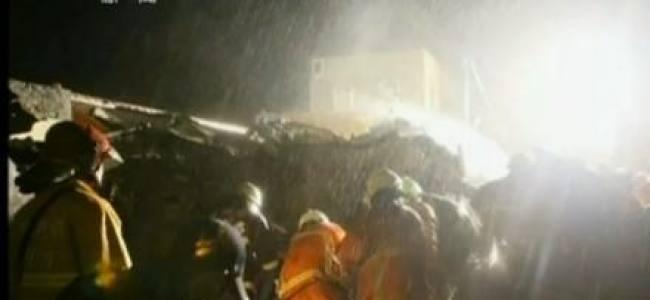Taiwanese flight crash after a falling emergency landing