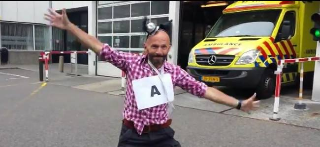 From Ambulance to Zuurstof, the Happy Emergency Room in Netherlands