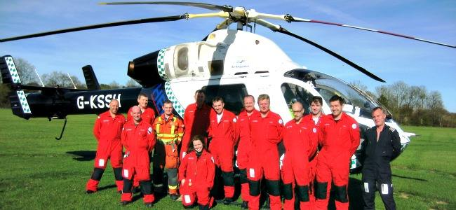 Airmed2014: Research Award for the Surrey and Sussex Air Ambulance