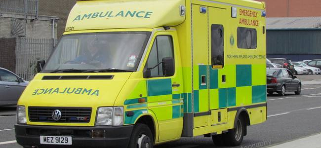 Urgent Question: A&E and ambulance services