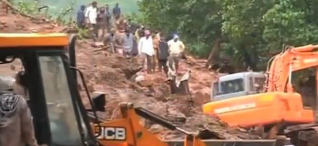 Landslide hit an indian village, 17 died