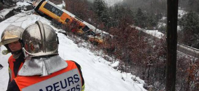 VIDEO – 200 passengers rescued in a train derailment in Switzerland