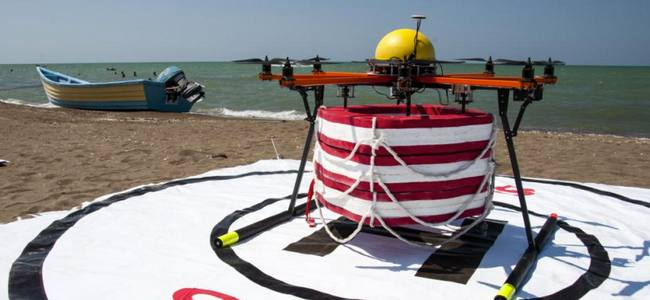 Water Rescue: Pars rescue robot test in Iran