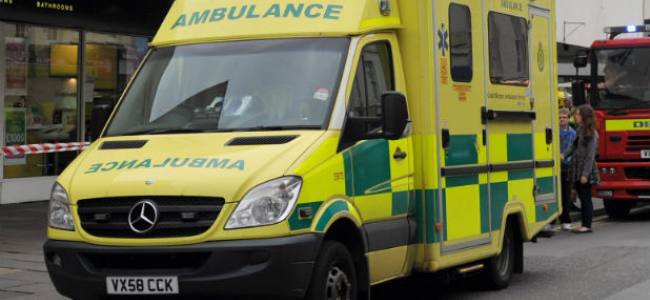 Cheltenham: Ambulance driver suspended after two pedestrians injured in crash