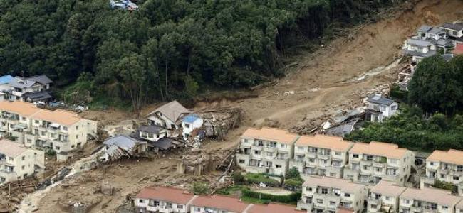 Death toll from landslide near Hiroshima, Japan, rises to 27