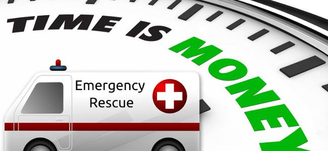 Time Is Money, But How Much? The Monetary Value of Response Time for Ambulance
