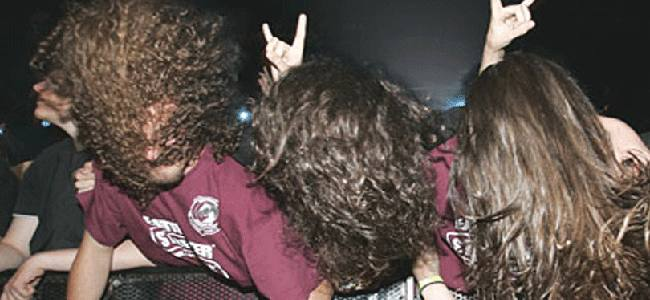 Headbanging During Heavy Metal Concert Linked To Man's Brain Bleed