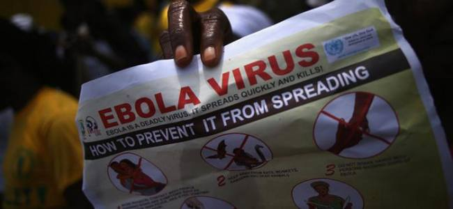 """Ebola, """"The international response continue to be inadequate"""""""