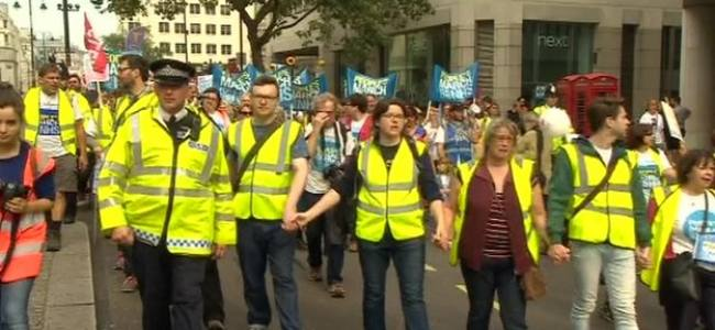 Thousands of people said no to privatisation of NHS