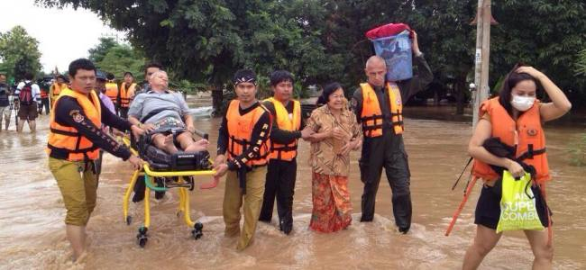 Thailand, flood and landslide emergencies continue