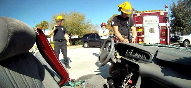 Why do you need airbag protection during rescue?