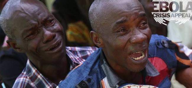 Ebola crisis: UK appeal raises £10m in five days – DEC