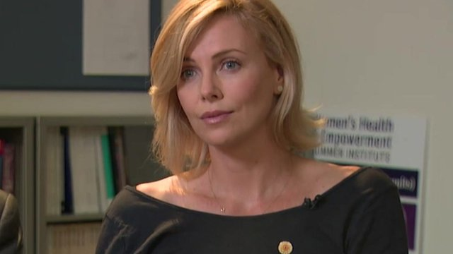 Charlize Theron on Aids: We cannot just wait for cure