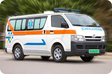 Paramed ambulance Toyota Hiace standard