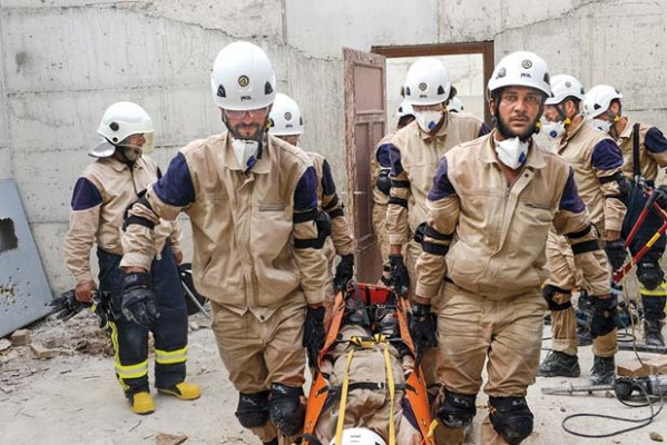 Be Rescuer in Syria, the Most Dangerous Job in the World