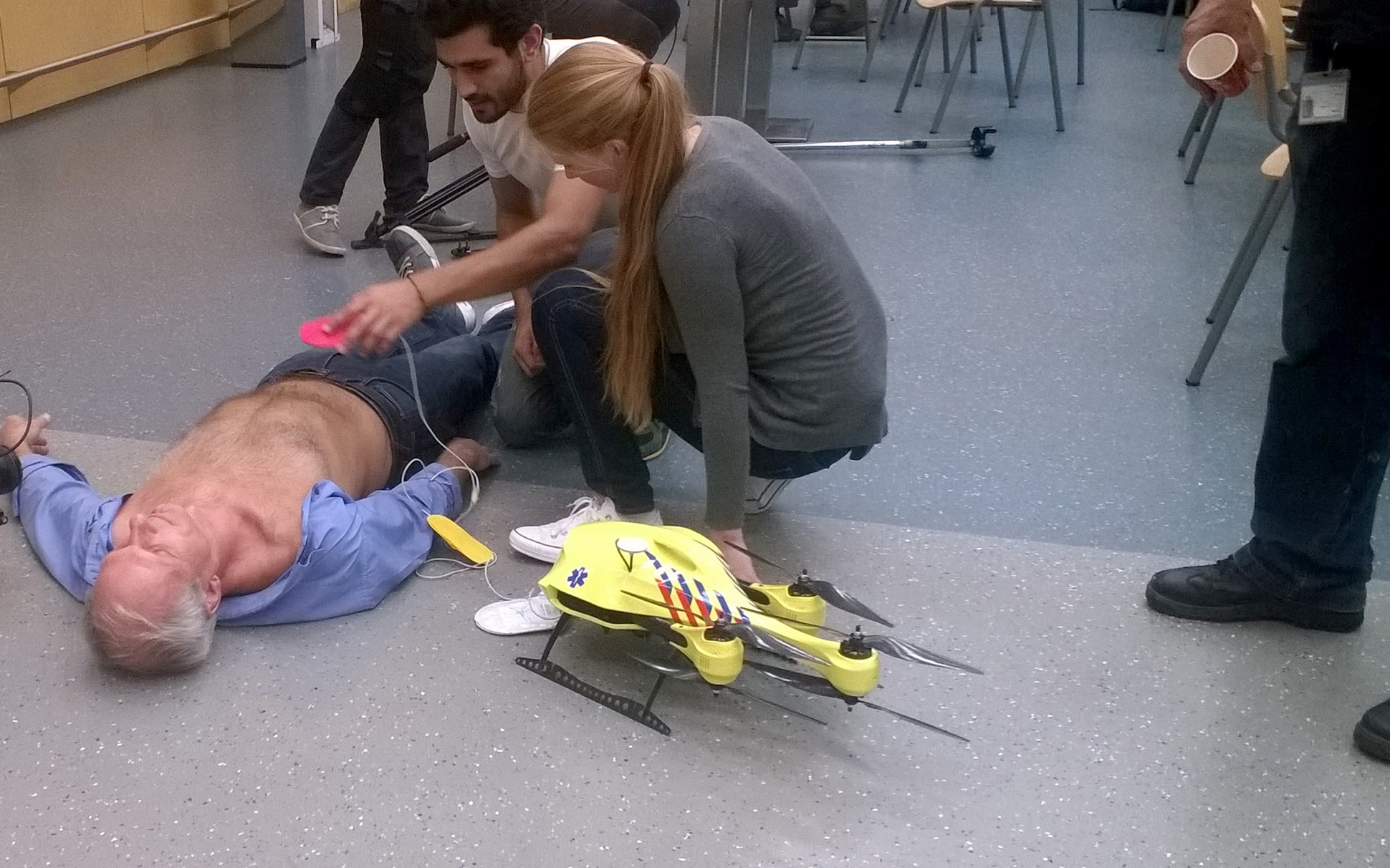 The Future of HealthTech – Ambulance Drones