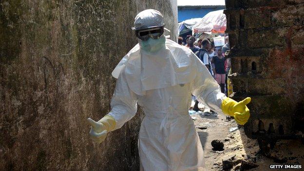 Vaccines move to Ebola frontline