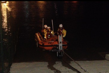 RNLI locate and rescue a man in Howth – VIDEO