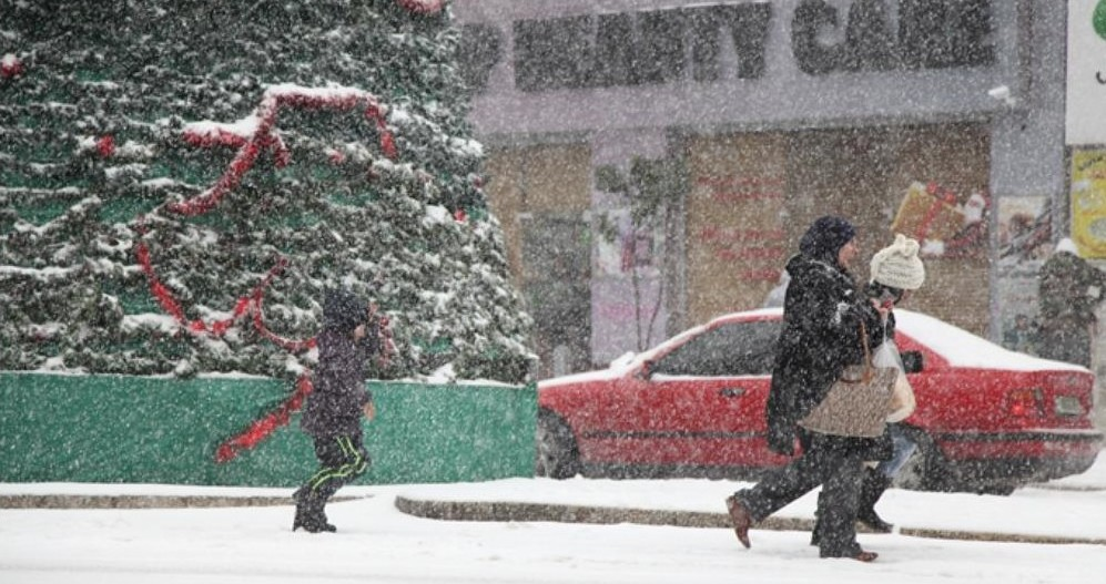 Palestine copes with deep freeze