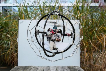 The 1milion dollar's drone is the Gimball project