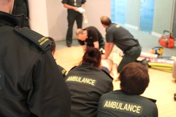 Are you interested in becoming a student paramedic?
