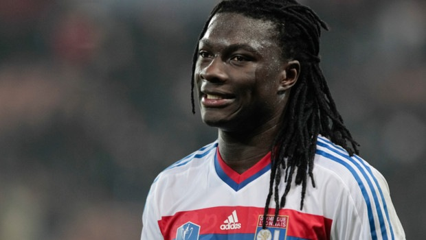 Gomis collapsed on the field for a drop in blood pressure