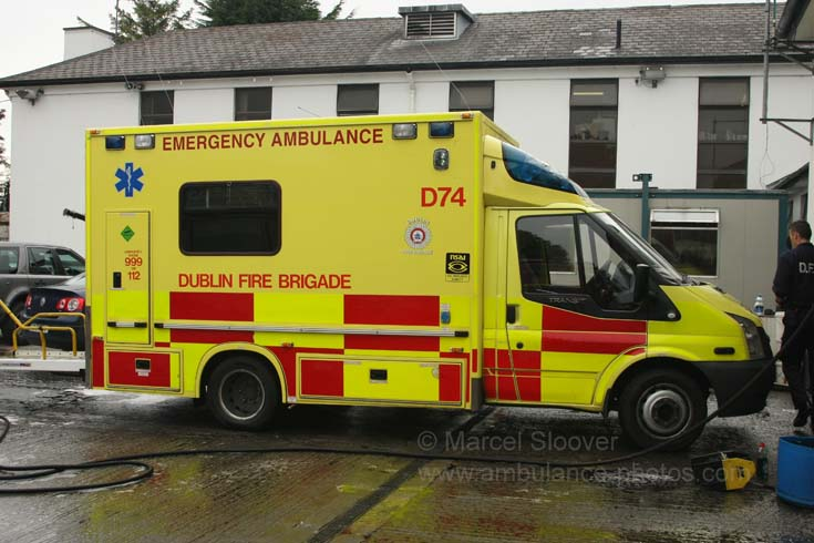 Dublin Fire Brigade could be set to lose its ambulance section