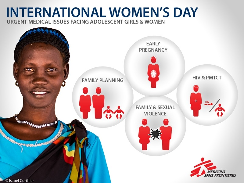 International Women's Day 2015: the MSF priorities