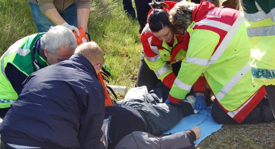 Military medicine, concussion, HEMS: It's all at UCD on 16 May