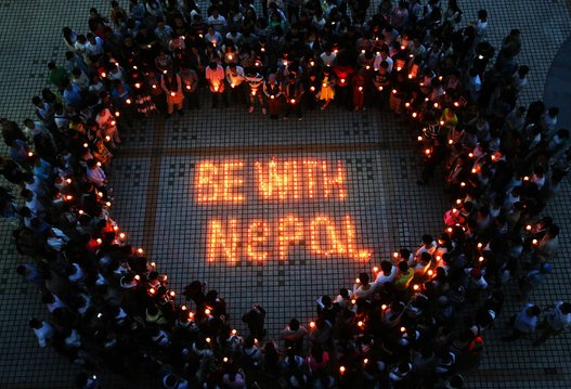 Be with Nepal and give your help