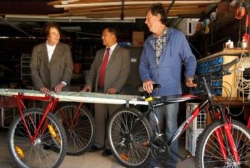 Sydney-made Burmese bicycle ambulance