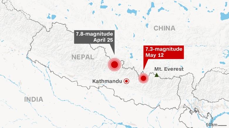 New earthquake in Nepal : Fear is back again