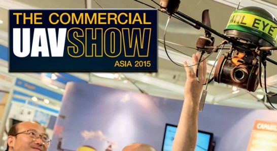 Commercial UAV Show Asia 2015, the potential of new technologies at a glance
