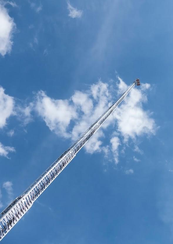 Magirus turntable ladder
