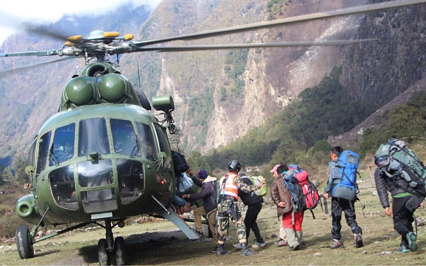Helicopter Crash in Nepal Killing 4 humanitarian workers
