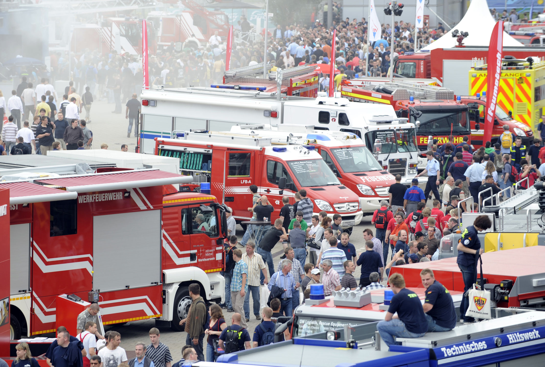 Biggest INTERSCHUTZ of all time: an event for the fire protection/prevention and rescue sectors