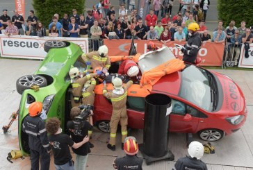 HOLMATRO Extrication Challenge: 29 teams from 16 countries have shown their skills at Interschutz