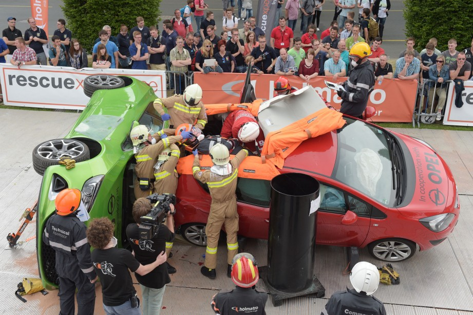 HOLMATRO Extrication Challenge: 29 teams from 16 countries have