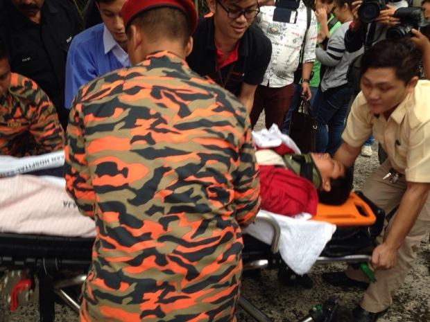 Rescue Sabah Earhtquake