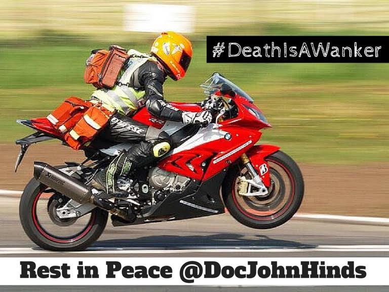 A great loss hit the world of Emergency Medicine: doctor John Hinds dies in Dublin accident