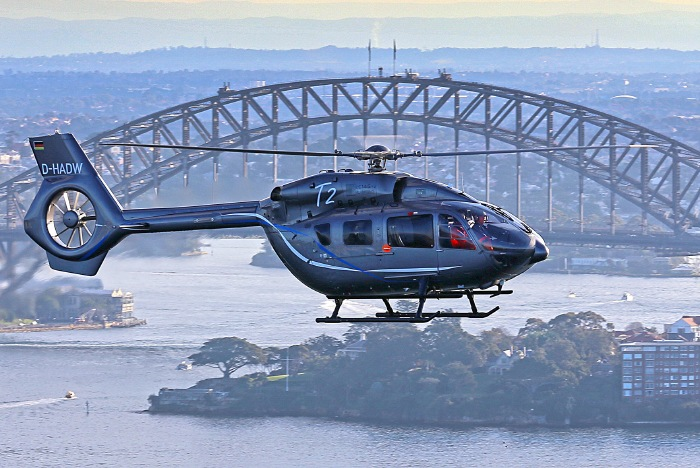 The H145 heads to Queensland in its Australia Demo Tour