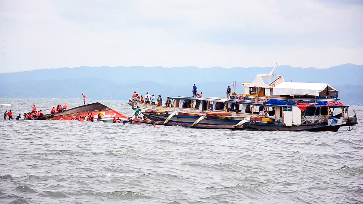 At least 36 dead after Philippine ferry capsizes in calm waters just 1km from port