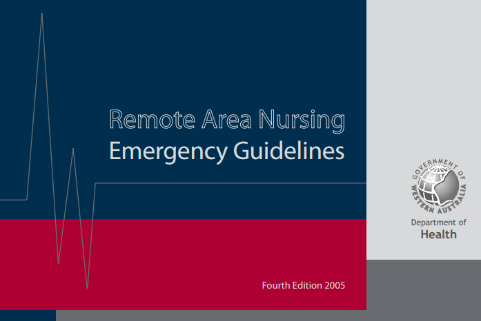 Australia – Remote Area Nursing Emergency Guidelines