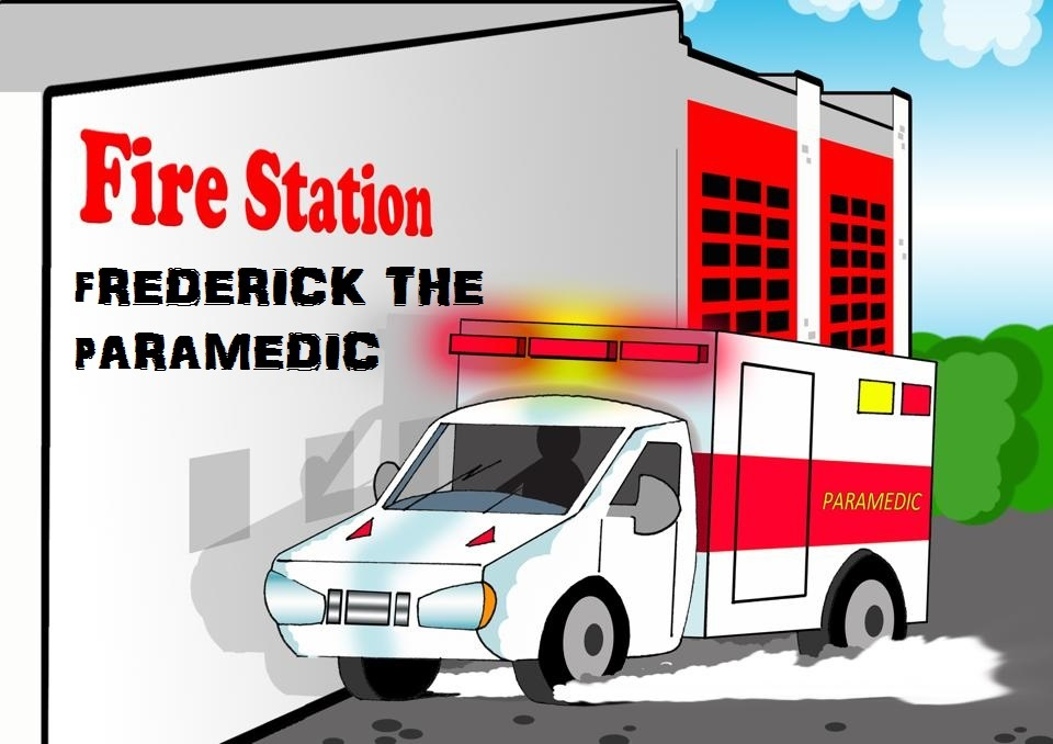 Frederick, the friendly Paramedic who teach kids about EMS