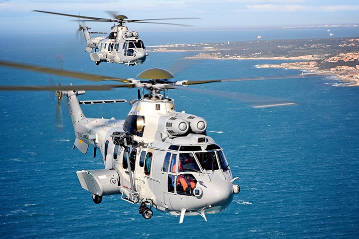 The Royal Thai Air Force receives four Airbus EC725s for Combat and Civil SAR