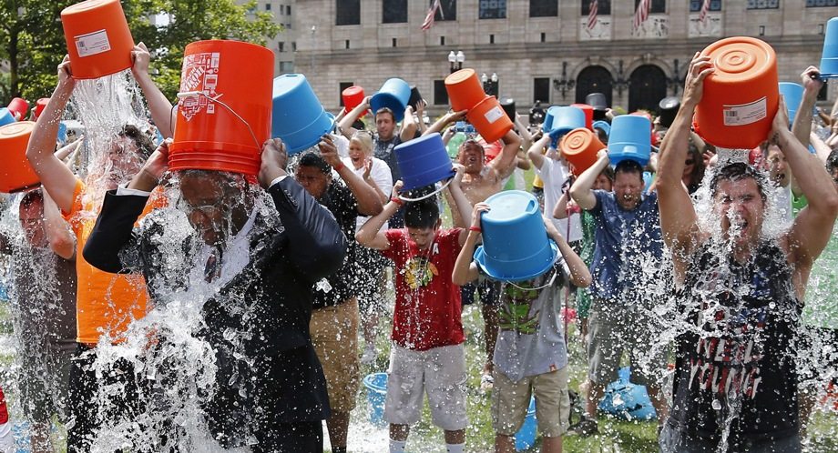 ALS could be stopped, thanks to the #icebucketchallenge