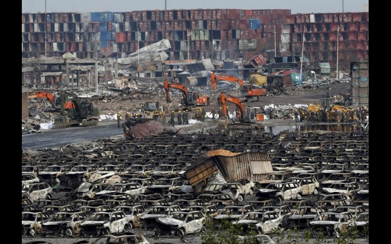 China – Police arrest 12 suspects in the Tianjin explosions