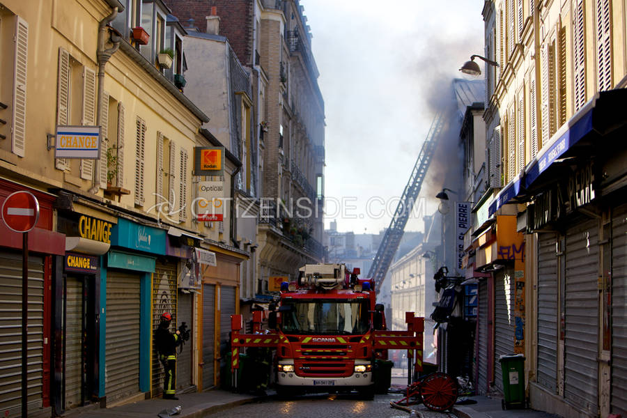 8 killed and 4 injured by fire in an apartment building in Paris